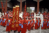 Parade of Scholars to Mark the Birthday of Confucius Photographic Print
