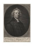 Henricus Aldrich, Engraved by John Smith (1652-1743), 1696 Giclee Print by Sir Godfrey Kneller