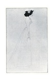 Mrs Patrick Campbell, from 'The Yellow Book', Volume I Giclee Print by Aubrey Beardsley