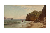 View of San Francisco Bay from Land's End, 1883 Giclee Print by Raymond Dabb Yelland