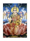 The Goddess Lakshmi Giclee Print