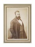 Jean-Francois Millet, C.1855 Giclée-trykk av  Nadar