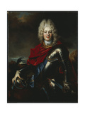 Portrait of Frederick Augustus II of Saxony Giclee Print by Nicolas de Largilliere