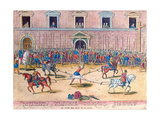 Execution of Jean De Poltrot, Sieur De Mere, on 18th March, 1563 Giclee Print by Franz Hogenberg