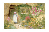 The Puppy Giclee Print by Arthur Claude Strachan