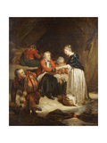 Edward in Scotland Giclee Print by Hippolyte Delaroche