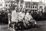 Orang Ulu Coming to Town, Photographed in Front of the Kuching National Museum, Sarawak, Malaysia… Photographic Print