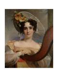 Mademoiselle Ade Sigoigne, 1829 Giclee Print by Thomas Sully