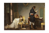 The Letter, 1877 Giclee Print by Marcus Stone