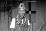 A Bidayuh Chief, Sarawak, Malaysia Photographic Print