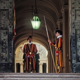 Swiss Guards Photographic Print