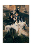 The Sweethearts' Lunch, C.1895 Giclee Print by Giovanni Boldini