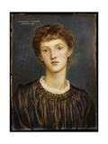 Portrait of Margaret Rawlins, 1883 Giclee Print by Evelyn De Morgan