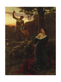Chivalry, 1885 Giclee Print by Frank Bernard Dicksee