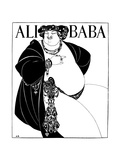 Cover Design for Ali Baba, 1897 Giclee Print by Aubrey Beardsley