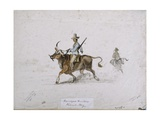 Namaqua Hunter, Walwick Bay, 1861 Giclee Print by Thomas Baines