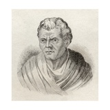 Menander, from 'Crabb's Historical Dictionary', Published 1825 Giclee Print