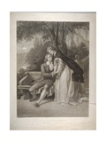 """Anticipation"" a Romantic Couple, 1851-93 Giclee Print by Ferdinand Rothbart"