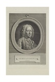 Servandoni, Engraved by Simon Charles Miger (1736-1820), C.1766 Giclee Print by Jean Francois Colson
