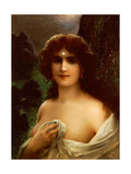 Sea Nymph Giclee Print by Emile Vernon