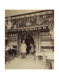 Chinese Apothecary, View from San Francisco's Chinatown, 1870-80 Giclee Print by Isaiah Taber
