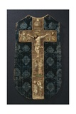 Rear Section of a Chasuble, Late 15th Century Giclee Print by German School