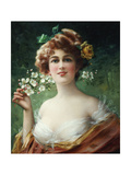 Blossoming Beauty Giclée-Druck von Emile Vernon