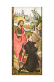Kneeling Donor with Saint John the Baptist, C.1470 Giclee Print by Vrancke van der Stockt