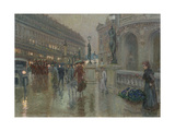 Paris at Night Giclee Print by Georges Stein