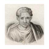 Poseidippus of Pella, from 'Crabb's Historical Dictionary', Published 1825 Giclee Print
