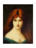 Portrait of a Lady Giclee Print by Jean-Jacques Henner