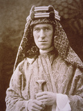 T.E. Lawrence in Arab Costume During Wwi, C.1914-18 Photographic Print