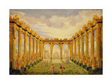 Act III, Scene V: Courtyard of the Elysian Fields Giclee Print by Giacomo Torelli