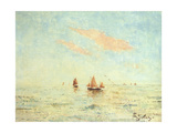 The Sea Off Treport, C.1880 Giclee Print by Alfred George Stevens