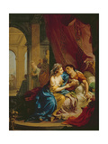 Anthony and Cleopatra, 1774 Giclee Print by Johann Heinrich Tischbein