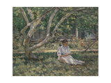 Nettie Reading, C.1894 Giclee Print by Theodore Robinson