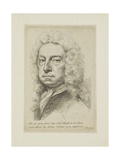 Self Portrait, 1738 Giclee Print by Jonathan Richardson