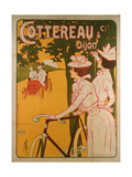 Poster Advertising Cottereau and Dijon Bicycles Giclee Print by Ferdinand Misti-mifliez