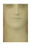 Study of a Woman, 1890 Giclee Print by Fernand Khnopff