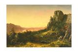 Rocky Landscape, 1853 Giclee Print by John Frederick Kensett