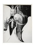 Of a Neophyte and How the Black Art Was Revealed Unto Him', 1899 Giclee Print by Aubrey Beardsley