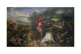 The Battle of Arbeles in 331 BC Giclee Print by Joseph Parrocel
