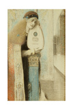 A Musician, C.1899 Giclee Print by Fernand Khnopff