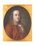 Benjamin Franklin, 1778 Giclee Print by Jean Valade