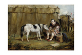 Circus, Pony and Clown Giclee Print by Samuel Henry Alken