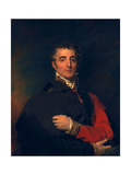 Arthur Wellesley, Duke of Wellington Giclee Print by Sir Thomas Lawrence