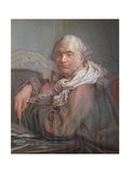 Victor Louis Giclee Print by Francois Louis Lonsing