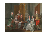 The Gascoigne Family, C.1740 Giclee Print by Francis Hayman