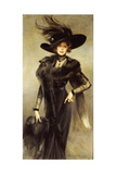 Fashionable Beauty Giclee Print by Francois Flameng