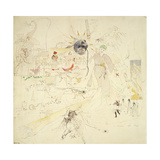 A Dream in Absinthe, 1890 Giclee Print by Charles Edward Conder